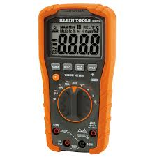 digital multimeter auto ranging 1000v mm600 klein tools