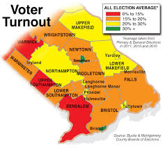 Bucks County Tax Map Where We Vote And Where We Don U0027t In Bucks And Eastern Montgomery