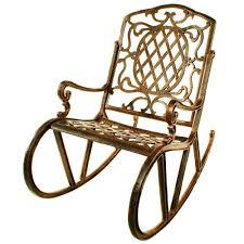 Metal Patio Rocking Chairs Oakland Living Mississippi Patio Rocking Chair 2114 Ab The Home