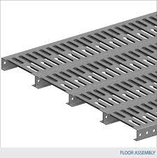 Mezzanine Open Steel Planking Floor Design U2014 Waymarc Racking