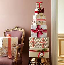 wrapped present display one our style