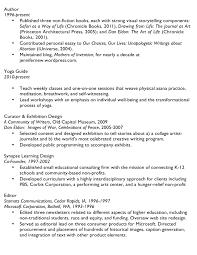 Individual Resume Resume U2013 Jennifer New