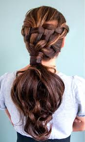 French Braid Hairstyles With Weave 163 Best Braids Images On Pinterest Hairstyles Long Hair And