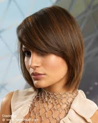 hairdo meck length medium long hair cut with an s curve that flows to mid neck length