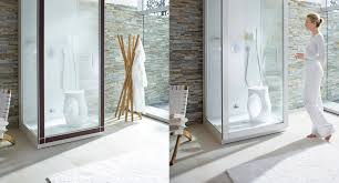 Duravit White And Stone Organic Bathroom With Wooden Accessories - Organic bathroom design