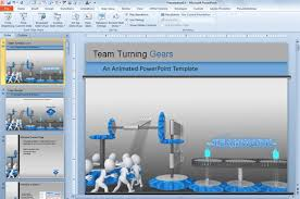 animated powerpoint 2010 templates free download animated cogs in