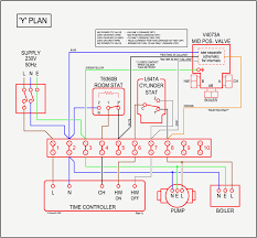 y plan central heating system inside mid position valve wiring