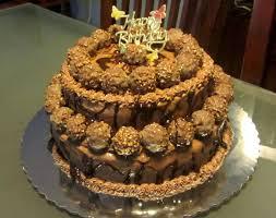 chocolate nutella frosting ferrero rocher hershey u0027s drizzle