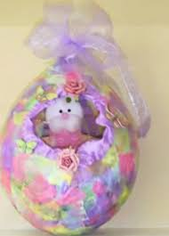 paper mache easter baskets paper mache baskets from balloons for easter monthly crafts