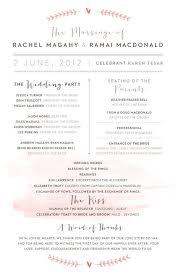 Wedding Programs Samples Exellent Simple Wedding Ceremony Script Image 10921 Johnprice Co