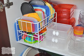 5 steps to an organised kitchen cupboard including the