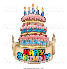 clip art happy birthday cake bbcpersian7 collections