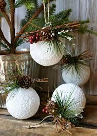 Christmas Decorations To Make White Christmas Decorations To Make