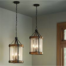 kichler outdoor lighting lowes shop kichler lighting barrington 12 01 in w distressed black and
