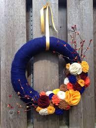 Where To Buy Fall Decorations - best 25 fall yarn wreaths ideas on pinterest yarn wreaths pool