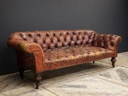 Cheap Red Leather Sofas by Red Leather Sofa Chesterfield Vintage Design Pinterest