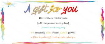 sample birthday gift certificate template chevron pink chevron