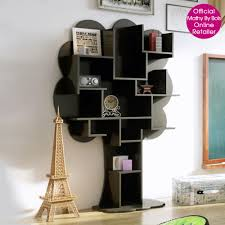 creative tree bookshelf designs offering natural look beautiful