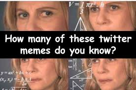 Meme Twitter - you spend way too much time on twitter if you recognize half of