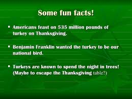 facts about thanksgiving the best fact 2017