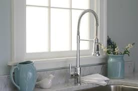 kitchen faucets houzz stainless steel microwave stella salvador