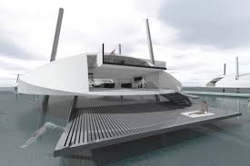 floating houses floating house with retractable legs is designed for the floods to