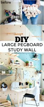cool pegboard ideas diy plywood pegboard wall so cool and chic