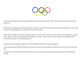 olympic continents by bdemczak teaching resources tes