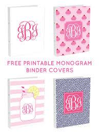 monogram websites diy monogram binder covers using free monogram maker chicfetti