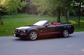 Black Mustang With Red Stripes Which Color For Rocker Stripes On Black Gt The Mustang Source