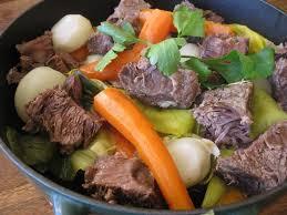 cuisiner les restes de pot au feu pot au feu au paleron de bœuf