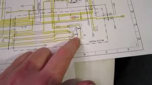 how to read an automotive wiring diagram porsche 944 youtube