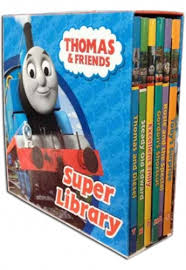 thomas friends super library 6 book collection