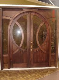 Contemporary Entry Doors Custom Door Design Fine Art Double Doors Custom Solid Wood Glass