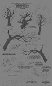 treeees by greekceltic how to draw realistic trees plants