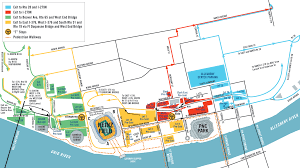 Map Of Pittsburgh Pennsylvania by Pittsburgh Steelers Parking At Heinz Field In Pittsburgh Pa