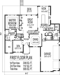4 bedroom 2 story house plans four story house plans attractive 4 tudor style floor