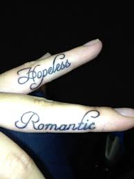 hopeless romantic finger tattoos cute maybe i u0027ll get these