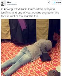 Black Church Memes - the person who always gets a special touch from the lord black