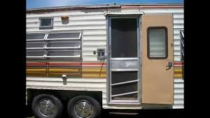 1978 coachmen deluxe travel trailer youtube