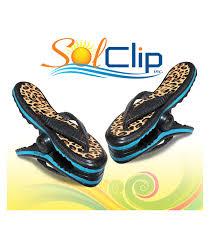 flip flop towel towel solclip flip flop leopard solclip