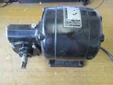 bodine electric company nse 34 motor 5000 rpm 115v 1 6 hp ebay