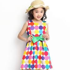 dress pattern 5 year old buy kids girls summer three year old girl 2 3 4 5 6 7 8 9 10 dot