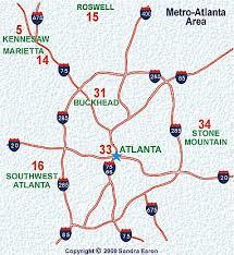 map of metro atlanta atlanta civil war map