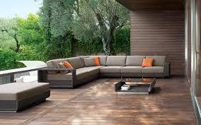 Contemporary Outdoor Sofa Modern Outdoor Wicker Patio Furniture Casual Outdoor Wicker
