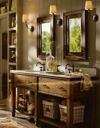 design innovative rustic mirrors for bathrooms wood mirror