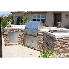 curved bbq island w stacked stone and stereo system outdoor curved bbq island w stacked stone and stereo system