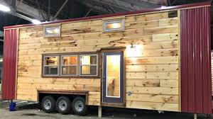 Tiny Home Design by Tiny House On Wheels Modern Rustic Spacious Kitchen And Bath