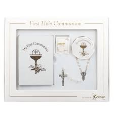 amazon com first holy communion gift set for with common