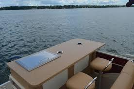 Vinyl Decking For Boats by Restoring For A Fraction Pontoon Restoration Gives Owners Another